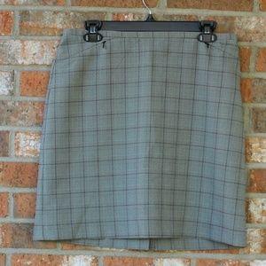Vintage 1990's Plaid Mini Skirt Size 10